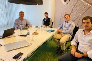 Tinelli se reunió con gerentes y directores de la Liga Profesional