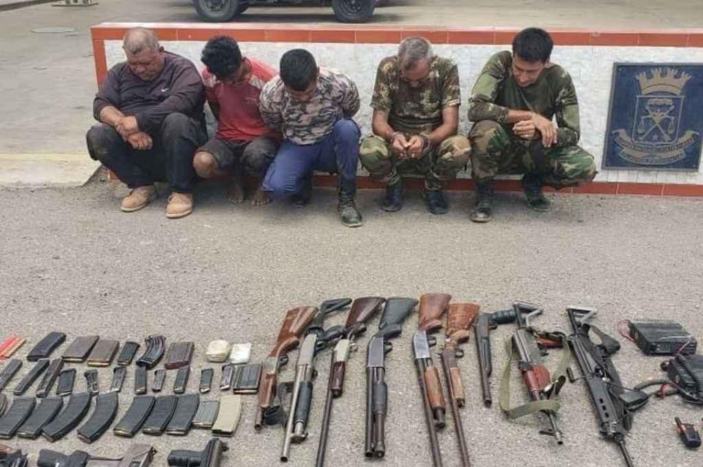 Algunos de los implicados en la operación que fueron capturados en Venezuela.   Crédito: Gentileza