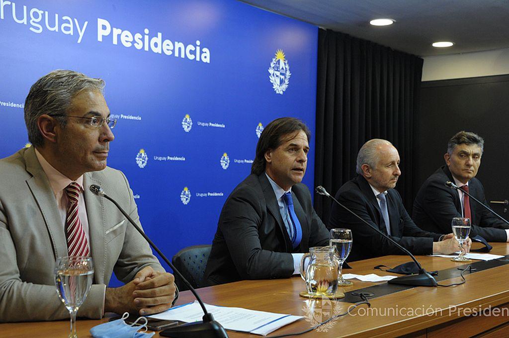Crédito: Presidencia de Uruguay