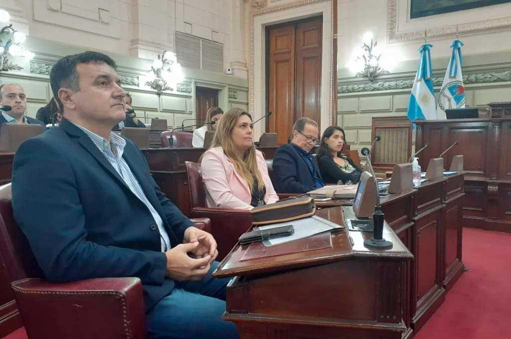 El diputado Marcelo González.  Crédito: Archivo El Litoral