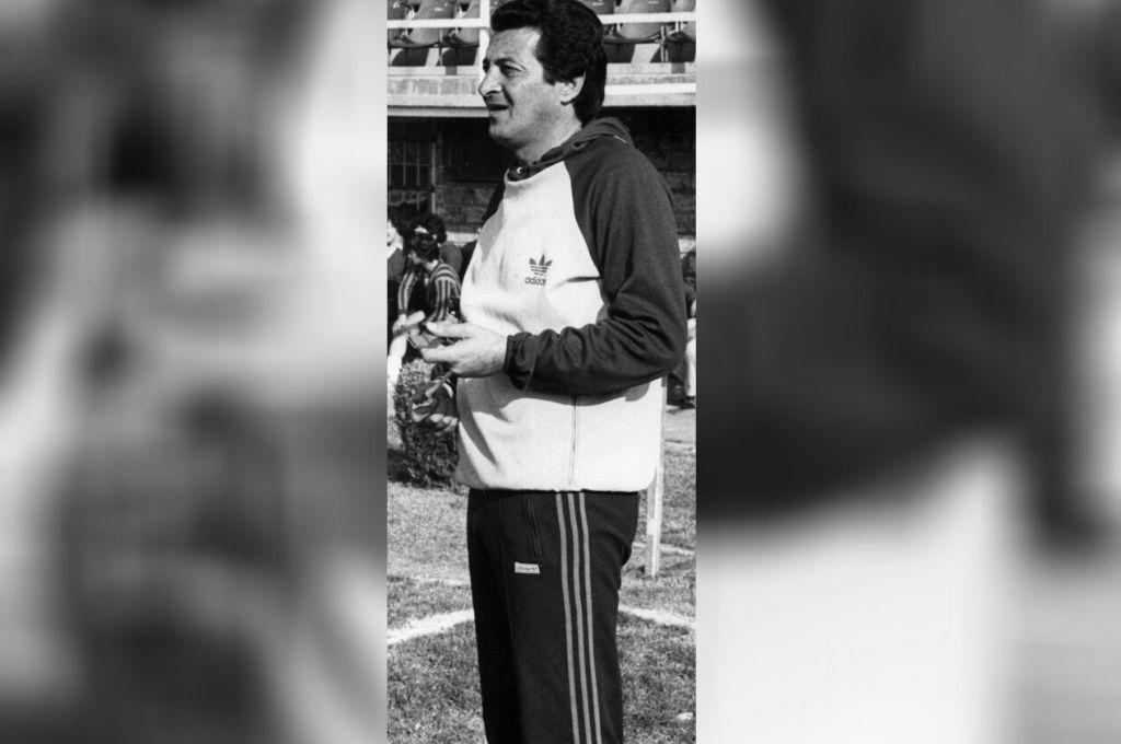 Marcos Conigliaro, cuando era DT de Unión. Crédito: Archivo