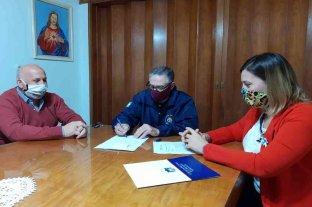 La diputada Orciani aportó el 50 % del sueldo a los Bomberos de Santa Isabel