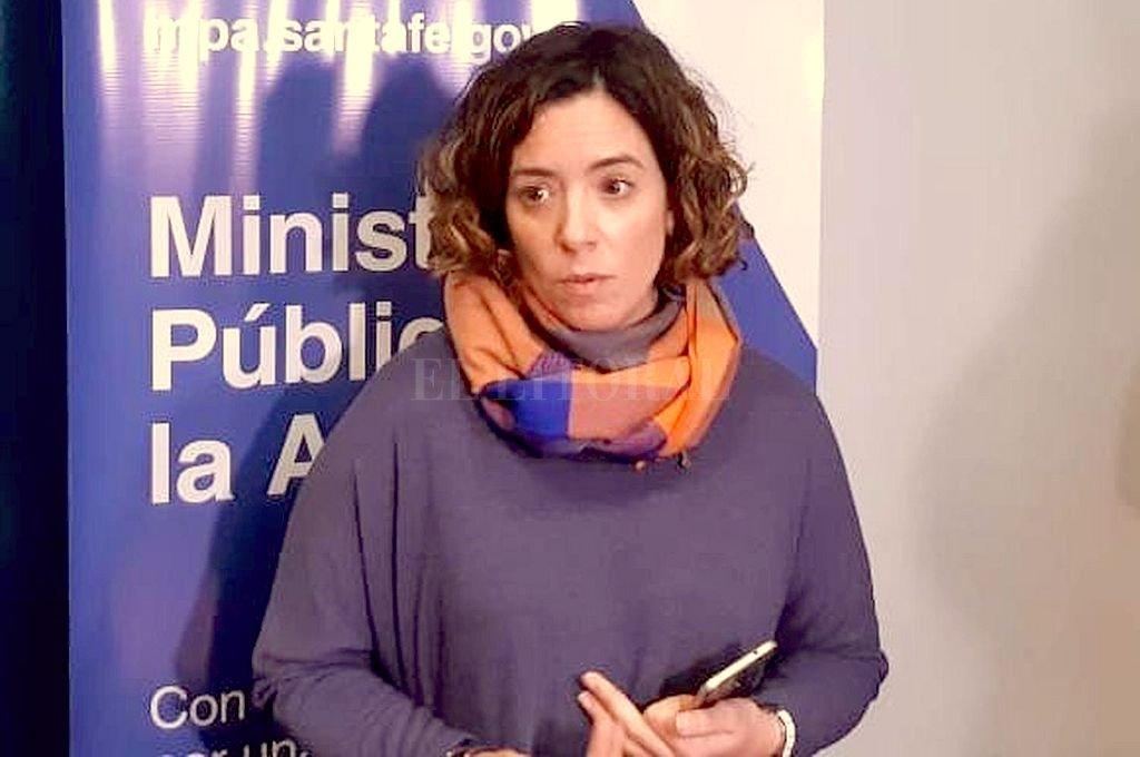La fiscal María Celeste Minniti. Crédito: Archivo El Litoral