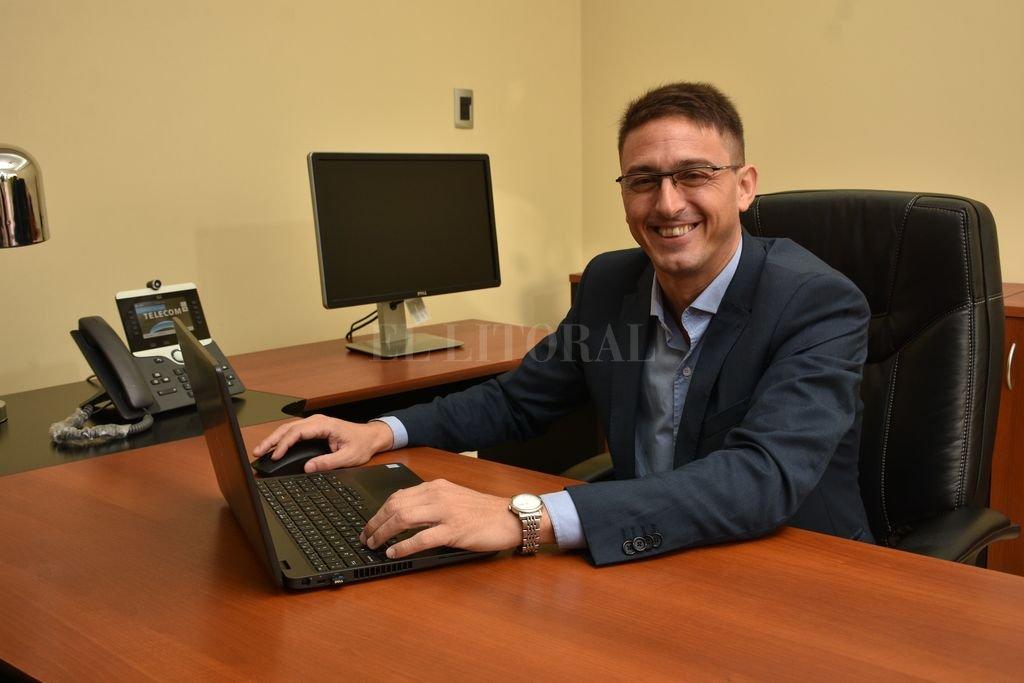 Alejandro Saavedra, responsable del área de Relaciones Gubernamentales, Comunicación y Medios Interior-Litoral de Telecom Argentina. Crédito: Archivo El Litoral