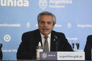 Coronavirus: El error en la conferencia de Alberto Fernández -