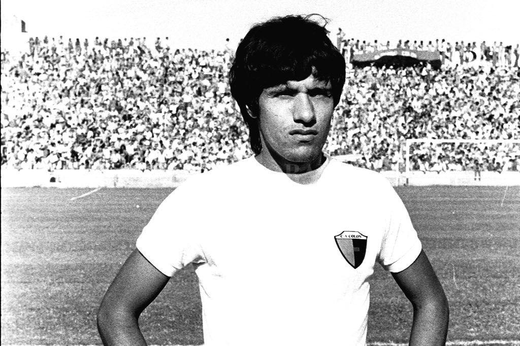 Hugo Villarruel, autor de uno de los goles. Crédito: Archivo El Litoral