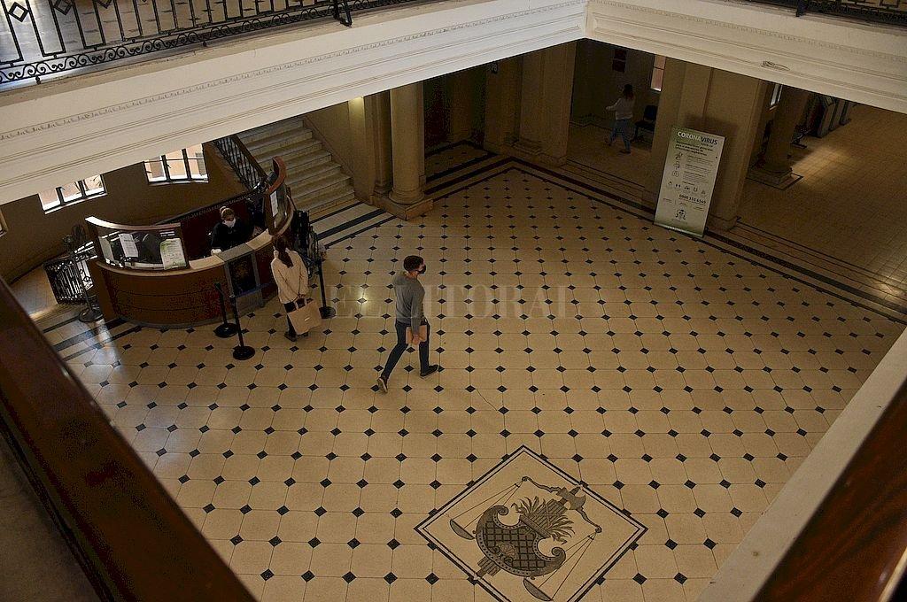 Tribunales de la ciudad de Santa Fe.  Crédito: Guillermo Di Salvatore