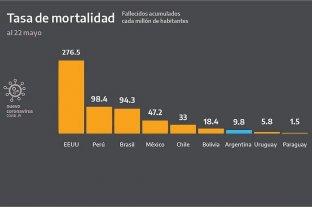 El Ministerio de Salud reconoció el error en los gráficos que mostró Alberto Fernández -  -