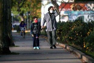 La ciudad de Buenos Aires se convierte en el centro de la pandemia en el país - En CABA, las salidas recreativas continuaron este fin de semana. Los casos en el AMBA se dispararon en los últimos días.