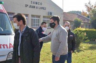 Funcionarios de Salud provincial visitaron San Jerónimo Norte y Santa Clara