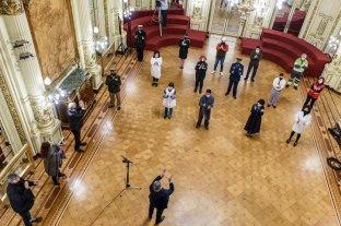 El presidente Alberto Fernández participó de la conmemoración del Primer Gobierno Patrio