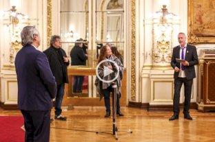 El presidente Alberto Fernández participó de la conmemoración del Primer Gobierno Patrio -  -