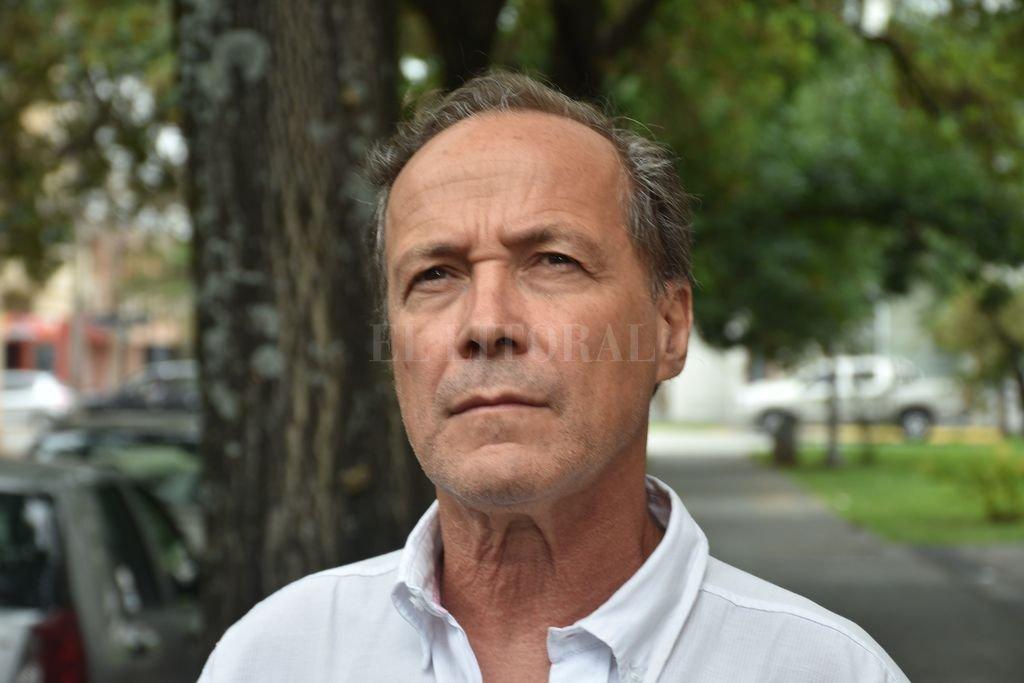 Rubén Giustiniani, de Igualdad y Participación. Crédito: Archivo El Litoral