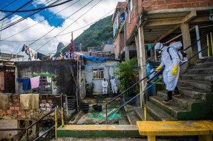 Brasil roza los 375.000 casos de coronavirus