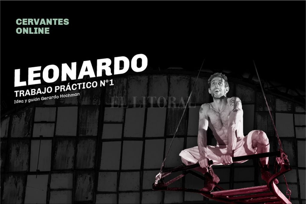 Leonardo, trabajo práctico N°1, inspirado en la intrigante obra de Leonardo da Vinci. Crédito: Gentileza producción