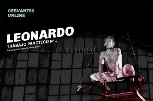 Nueva propuesta del Cervantes on line - Leonardo, trabajo práctico N°1, inspirado en la intrigante obra de Leonardo da Vinci. -
