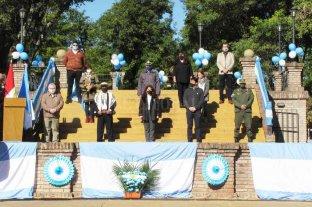 Con un acto muy austero, Vera celebró el 210 aniversario de la Revolucion de Mayo