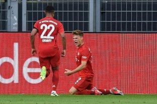 Bayern Munich venció a Borussia Dortmund y se acerca a su octavo título consecutivo