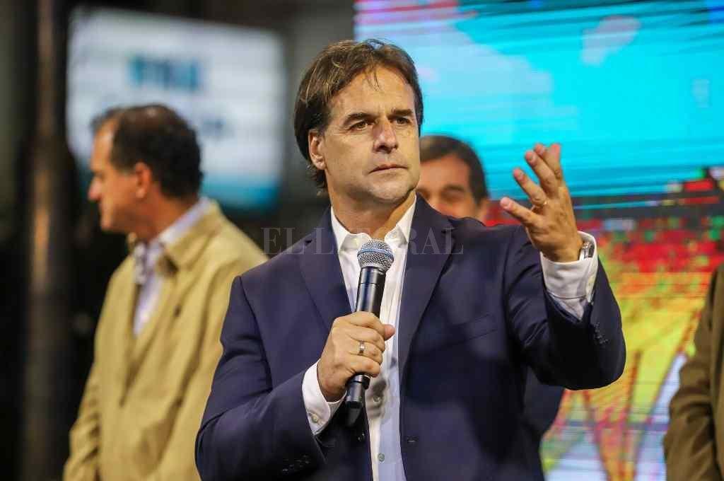 Luis Lacalle Pou, presidente de Uruguay.  Crédito: DPA