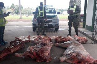 Nicanor Molinas: decomisaron media tonelada de carne de procedencia dudosa