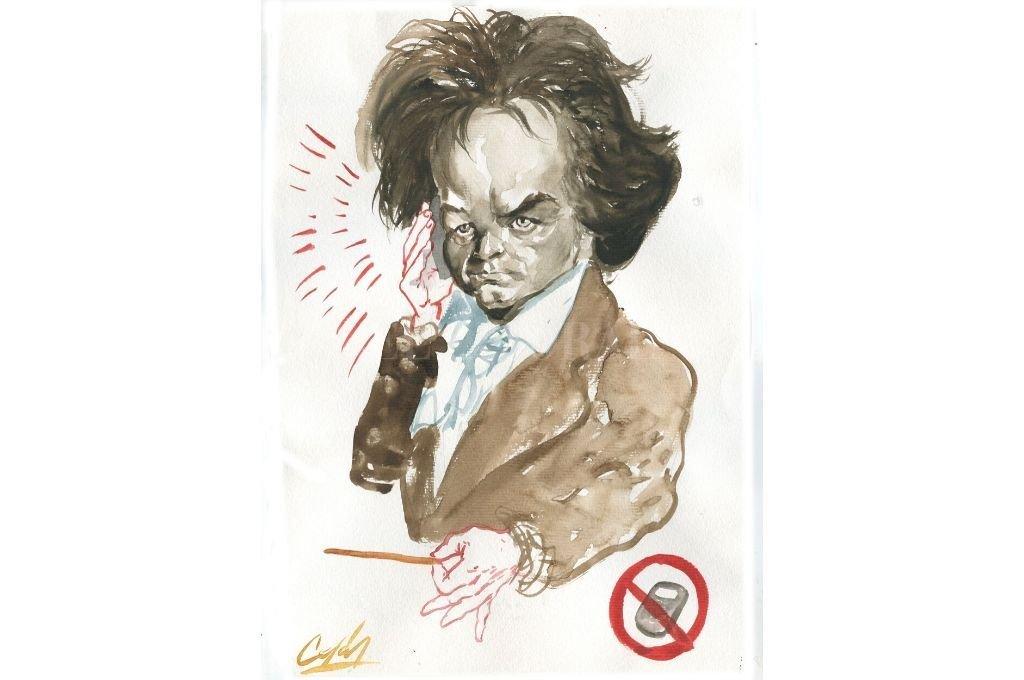 Ludwig van Beethoven Crédito: Archivo El Litoral - Lucas Cejas