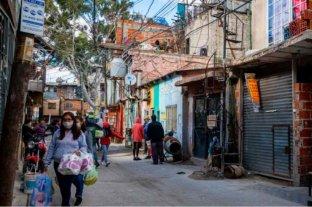 Un muerto y 152 nuevos casos fueron reportados en barrios populares porteños