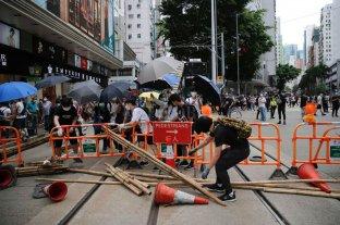 Más de 300 detenidos tras una protesta en Hong Kong