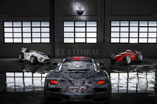 Maserati homenajea a Stirling Moss