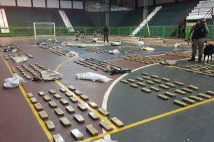 Secuestran 850 kilos de marihuana en dos operativos en Formosa y Misiones