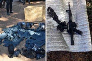 Cuatro personas fueron detenidas con armamento de guerra y vestimenta policial en Misiones