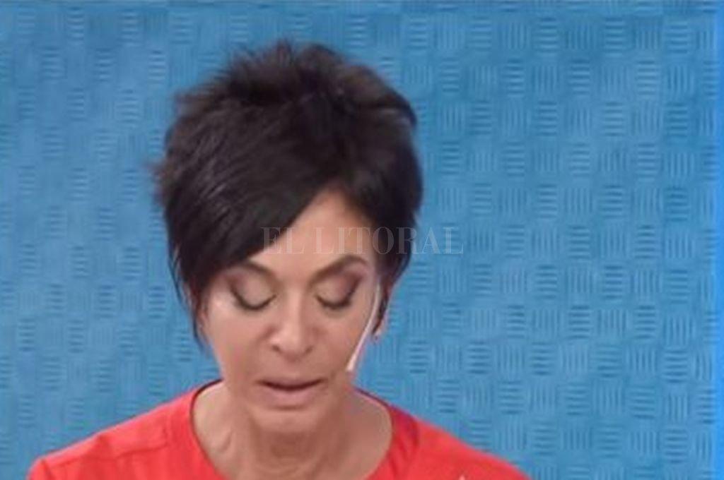 El incómodo desliz de Mónica Gutiérrez que es furor en las redes