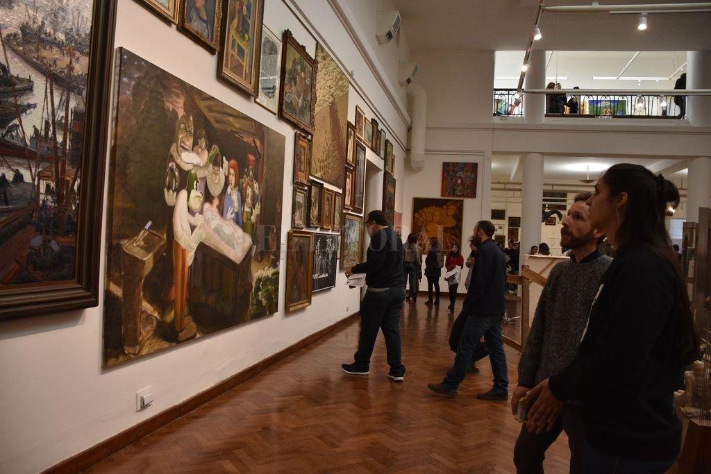 Apertura del Salón de Mayo 2019. Crédito: Archivo El Litoral / Guillermo Di Salvatore
