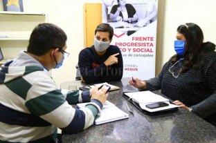 Concejales del FPCYS abren una oficina virtual
