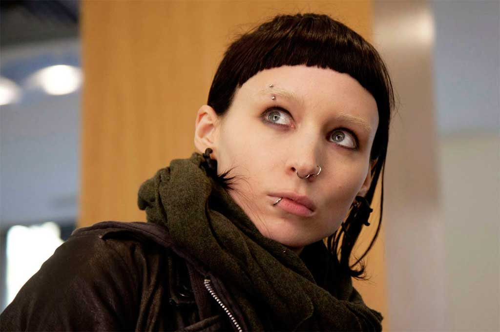 Rooney Mara, en el papel de  Lisbeth Salander Crédito: Gentileza