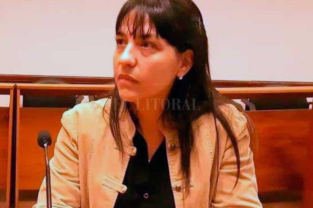 Fiscal Alejandra Del Río Ayala. Crédito: Archivo El Litoral