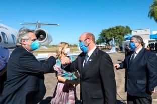 "Fernández elogió a Insfrán: ""Es un buen gobernador"""