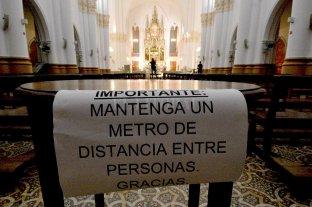 La provincia habilitó las actividades religiosas individuales en iglesias, templos y locales de culto -