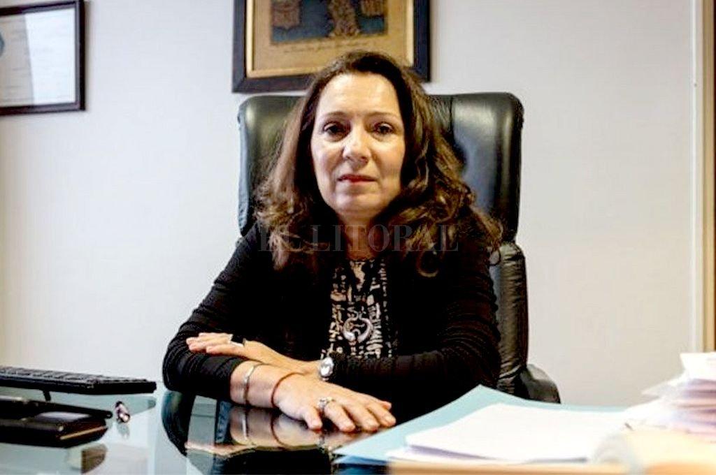 Cristina Caamaño. Crédito: Archivo El Litoral