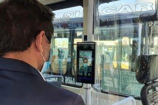 Dos líneas de colectivos instalan cámaras térmicas para medir la temperatura de los pasajeros