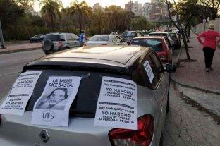 Médicos de Córdoba volvieron a realizar una caravana de protesta
