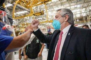 Un empleado de Toyota dio positivo de Covid-19, un día después de la visita del presidente  -  -