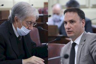 El Senado cruzó muy duro al ministro de Seguridad - Joaquín Gramajo (PJ) y Lisandro Enrico (UCR) hablaron en el recinto. Armando Traferri (PJ) presentó un crítico pedido de informes. -