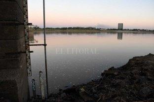 """Otro leve repunte del río, mientras advierten que la """"perspectiva meteorológica no es favorable"""" -  -"""