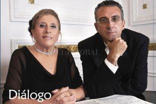 """Un """"Diálogo"""" preservado en el tiempo - La portada del CD recupera un retrato realizado por el fotógrafo Oscar Dechiara, al igual que otras imágenes interiores. -"""