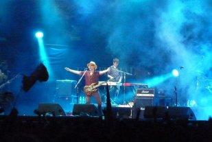 Palpita una edición virtual e interactiva de Cosquín Rock  - Skay Beilinson en Cosquín Rock 2019. -