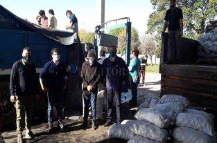 Una empresa donó 28 toneladas de papas para el departamento San Javier -  -
