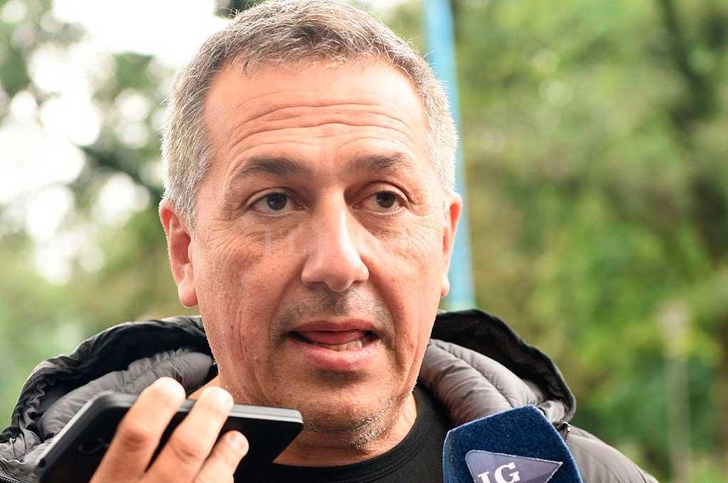 """Roberto Sagra, el hombre fuerte del """"Ciruja"""" que pelea por lo suyo y con razones. Crédito: Archivo El Litoral"""