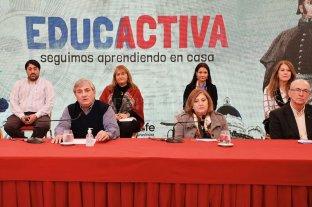 Ciclo televisivo para acompañar el proceso educativo en la pandemia