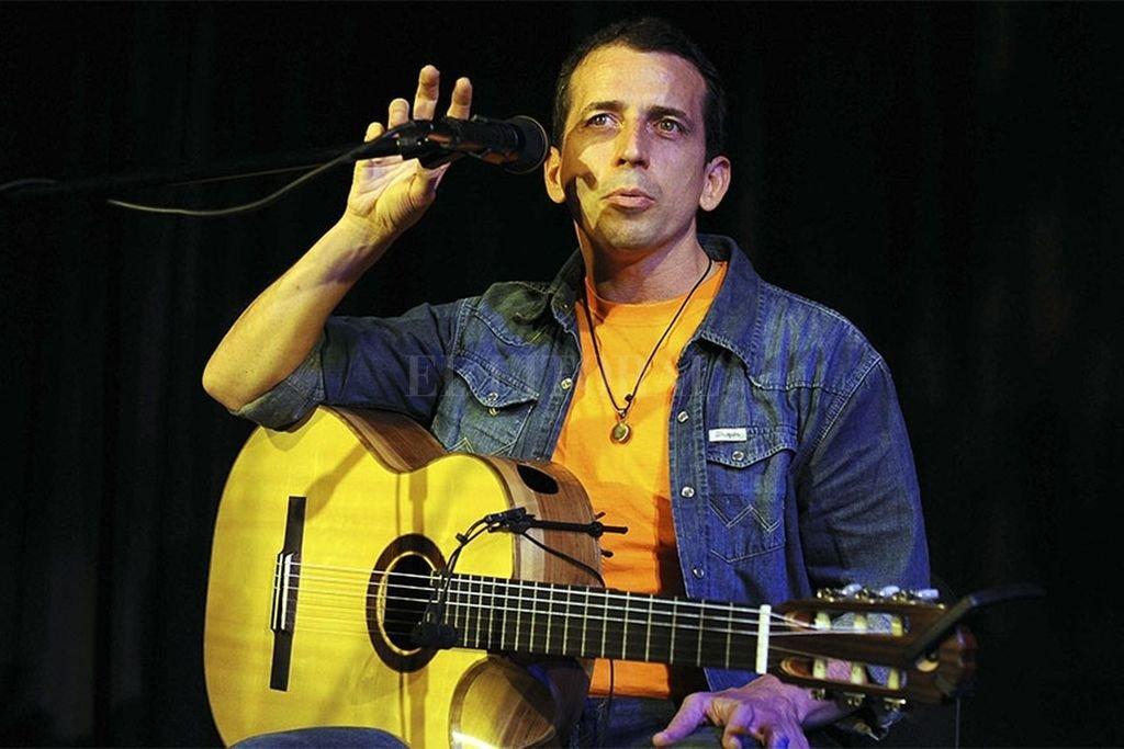 Juan Quintero ofrece un concierto por streaming Crédito: Télam