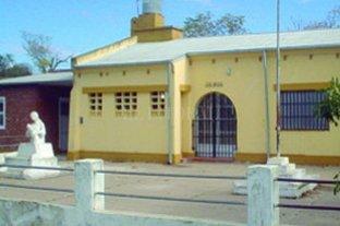 Irán a prisión por robar en una escuela rural
